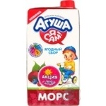Fruit-drink Agusha 500ml tetra pak Russia