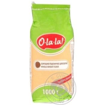 Борошно O-La-la Пшеничне 1кг - купити, ціни на МегаМаркет - фото 3
