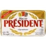 President butter 82% 125g