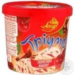 Ice-cream Azhur Triumf cherry 300g bucket Ukraine