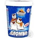 Морозиво пломбір 15% Три Ведмеді стакан 500г