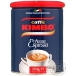 Ground coffee Caffe Kimbo Aroma Espresso 250g Italy
