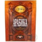Кава Московська кав'ярня на паях Арабіка натуральна розчинна сублімована 50г Росія