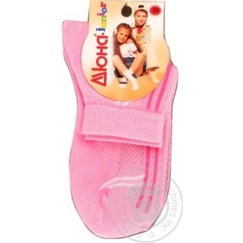 Носки детские Дюна 6В431 розовые размер 18 - купить, цены на Фуршет - фото 1