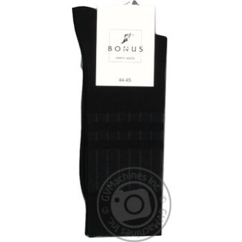 Шкарпетки чоловічі Бонус 0 2052 348 3133 чорний Л