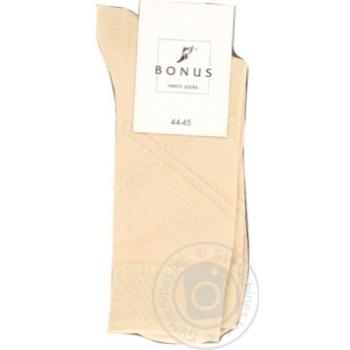 Шкарпетки чол.беж.Bonus 2053 р31-33