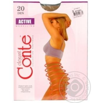 Колготы Conte Active 20 Den р.2 natural шт - купить, цены на Novus - фото 8