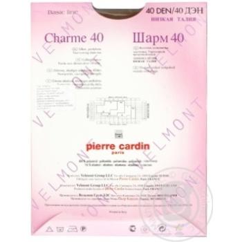 Колготи жіночі Pierre Cardin  Charme 40 Visone 3 - купить, цены на МегаМаркет - фото 3