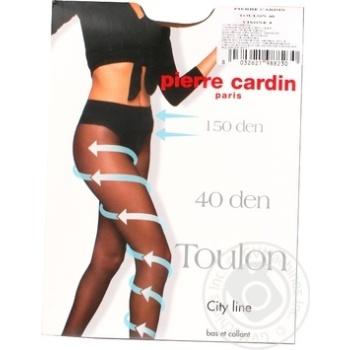 Tights Pierre cardin vizone polyamide for women 40den 3size - buy, prices for MegaMarket - image 1