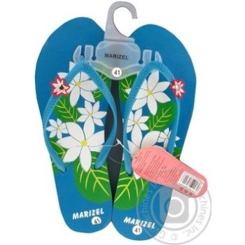 Тапочки Marizel Лето женские OXY 300 - купить, цены на Фуршет - фото 1