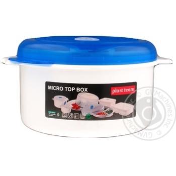 Ємність для морозильника Plast Team 1,5л 3107 - купить, цены на Novus - фото 1