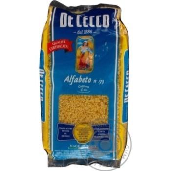 Макаронні вироби Альфабето De Cecco 500г