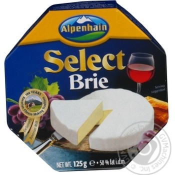 Alpenhain Select brie with mold cheese  50% 125g