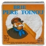 Brie Pere Toinou 50% 125g France
