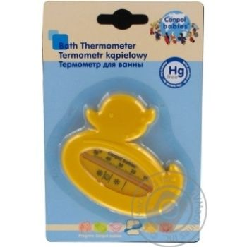 Thermometer Canpol for water - buy, prices for MegaMarket - image 2