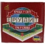 Гра Ерудит у слова українська