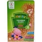Baby dairy-free porridge Heinz Buckwheat with omega 3 for 4+ months babies 200g Russia