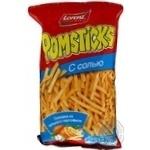 Чипсы Лоренц Помстикс солёные картофельные соломкой 100г Германия