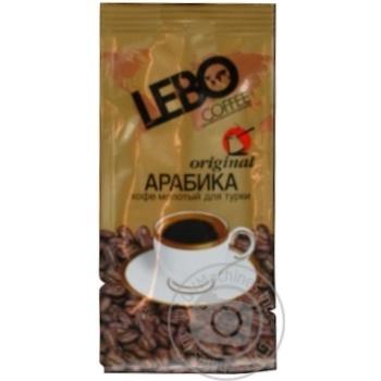 Кофе Лэбо Ориджинал Арабика для турки натуральный молотый среднеобжаренный арабика высший сорт 100г Россия