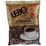 Natural coffee beans of medium roasting Lebo Arabica high quality 100g Russia