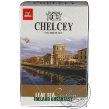 Черный чай Челси Айеленд Брэкфаст листовой 100г Шри-Ланка