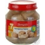 Фрикадельки Семпер из курицы для детей с 7 месяцев стеклянная банка 130г Испания