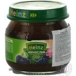 Puree Heinz Prunes starch and sugar free for 5+ month old babies 80g