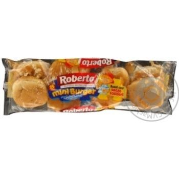 Булки Минибургер Roberto 200г