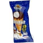 Морозиво пломбір в солодкому цукровому ріжку Три Ведмеді 90г