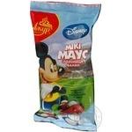 Морозиво Ажур Disney Мікі Маус зі смаком Банан-Полуниця вафельний стакан 65г