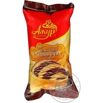 Морозиво ЗОЛОТИЙ СТАНДАРТ шоколад-крем-брюле ваф.стак. Ажур 70г
