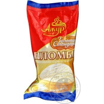 Морозиво Пломбір ЗОЛОТИЙ СТАНДАРТ ваніль ваф.стак. Ажур 65г