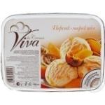 Мороженое Вива ла Крема персик-маракуйя 735г Германия