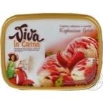Морозиво Полуничне Gelato Viva la Crema 559г