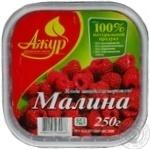 berry raspberry Azhur frozen 250g Ukraine