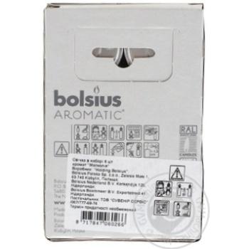 Свічки - таблетки Bolsius 4 г. 6 шт. магнолія арт. 103626941504 - купить, цены на Таврия В - фото 2