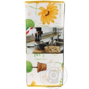 Килимок Zastelli мікрофібровий для сушки посуду 40*30см  х6 - купити, ціни на МегаМаркет - фото 6