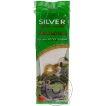 Устілки для взуття Silver натуральна пробка 33-45 - купить, цены на МегаМаркет - фото 5