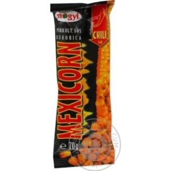 Кукурудза смажена барбекю Мексікорн Mogyi 70г