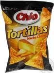 Чипсы Чио Тортиллас Начо Чиз кукурузные со вкусом сыра 125г