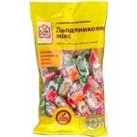 Caramels Fine food Candy mix 250g Ukraine