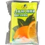 Лимонна кислота ІВА-ПАК харчова 20г Україна