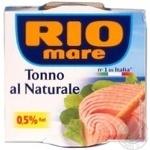 Fish tuna Rio mare in own juice 160g can