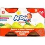 Puree Agusha apple for children from 4 months 115ml