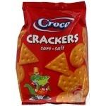 Крекер солоний Croco 100г
