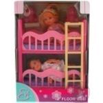 Кукольный набор Simba Эви с двуспальной кроватью