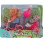 Лялька Єва Прогулянка на велосипеді з песиком Simba 5730782