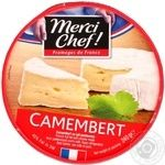 Сыр Мерси Шеф Камамбер мягкий с плесенью 45% 240г Франция