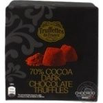 Truffle Truffettes de france chocolate 70% 200g in a box France