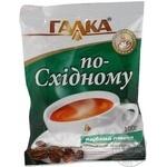 Кава Галка По-східному дрібного помолу натуральна смажена мелена 100г Україна